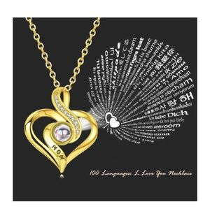 Jewelry - 100 Language I Love you Necklace